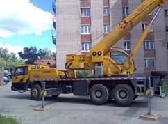 Аренда автокрана XCMG QY25k в Астане
