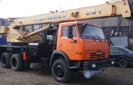 Услуги автокрана Галичанин КС55713 в Астане