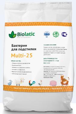 Бактерии для подстилки животным Multi - 25 Biolatic