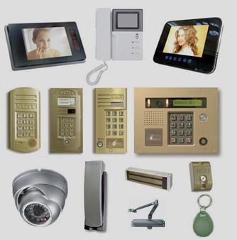 Установка домофонов видеодомофонов