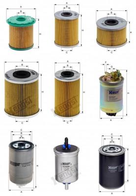 Фильтры Топливные фильтры в Алматы